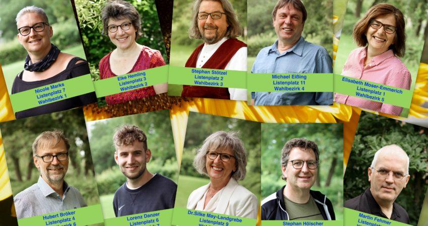Die Grünen in Laer